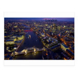 London at night (by St.K) Postcard
