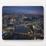 London at night mouse mats
