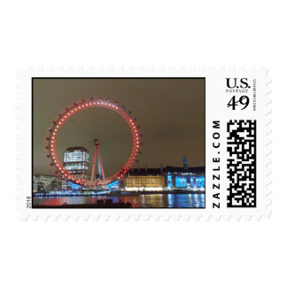London at Night Stamps