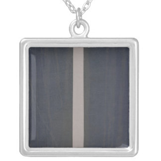 London atlas of universal geography square pendant necklace