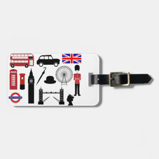 London Bag Tag