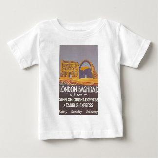 London Baghdad simplon orient express Baby T-Shirt