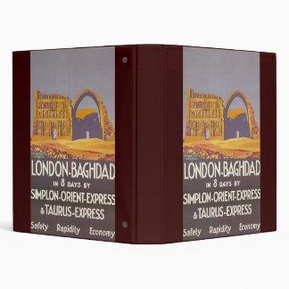 London Baghdad simplon orient express Binder