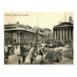 London, Bank of England, 1918 Vintage Post Card
