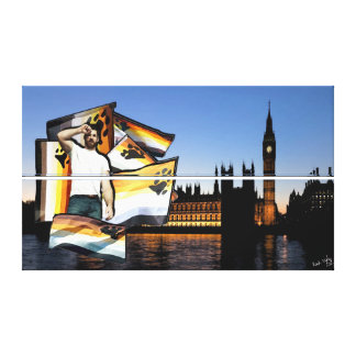London Bear Pride (No 2) on Stacked Canvas