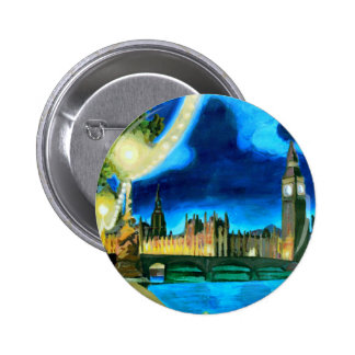 London Big Ben and Parliament with Thames Pins