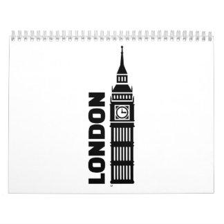 London Big Ben Calendar