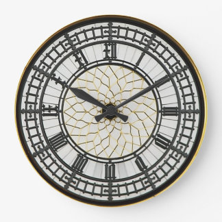 London Big Ben Clock Face