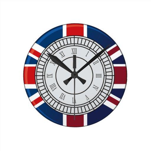 London Big Ben Clock Face Wall Clock Zazzle