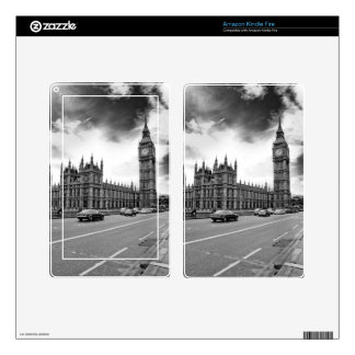 London Big Ben Decal For Kindle Fire