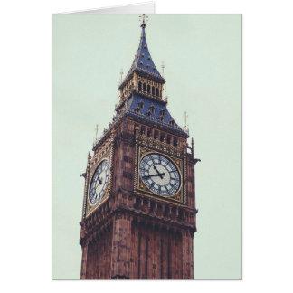 London Big Ben Greetings Card