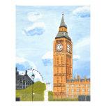 London Big Ben Personalized Letterhead