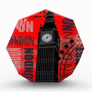 London Big Ben Red Modern Travel Collage Awards