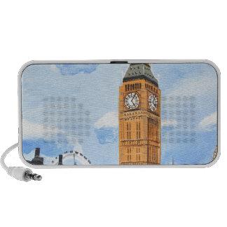 London Big Ben Portable Speakers