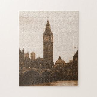 London - Big Ben - Thames - Puzzle