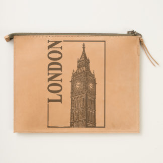 London, Big Ben Travel Pouch