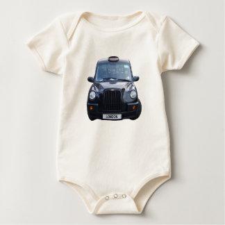 London Black Taxi Cab Baby Bodysuit