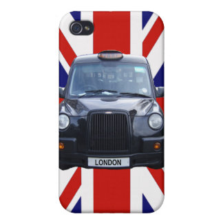 London Black Taxi Cab iPhone 4/4S Covers