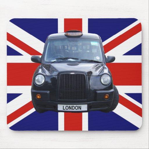 London Black Taxi Cab Mousepads