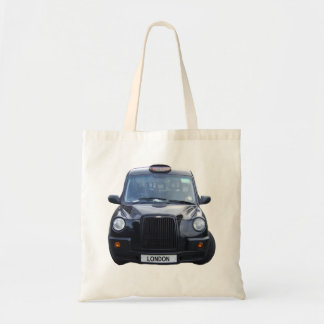 London Black Taxi Cab Tote Bag