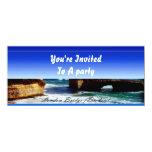 London Bridge 4x9.25 Paper Invitation Card