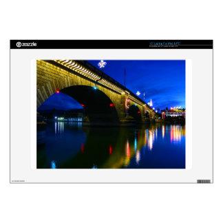 London Bridge at Dusk Laptop Decal
