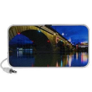 London Bridge at Dusk Portable Speaker