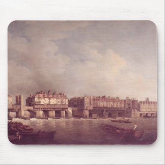 London Bridge before the Alteration in 1757 Mouse Pad