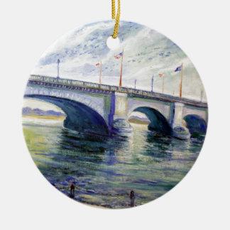 London Bridge by Alfred Zwiebel Ceramic Ornament