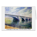 London Bridge by Alfred Zwiebel Greeting Card