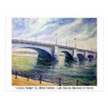 London Bridge by Alfred Zwiebel Postcards
