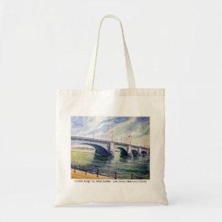 London Bridge by Alfred Zwiebel Tote Bag
