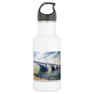 London Bridge by Alfred Zwiebel Water Bottle