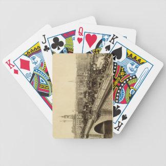 London Bridge, c.1880 (sepia photo) Bicycle Playing Cards