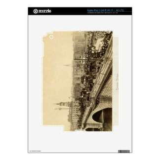 London Bridge, c.1880 (sepia photo) Decals For iPad 3