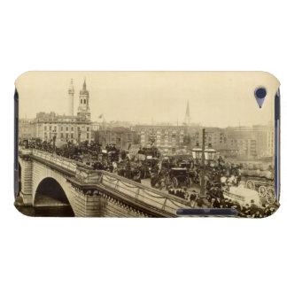 London Bridge, c.1880 (sepia photo) iPod Case-Mate Case