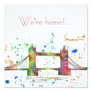 LONDON BRIDGE CARD