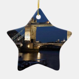 London Bridge Ceramic Ornament