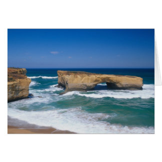 London Bridge, Great Ocean Road, Victoria, Card