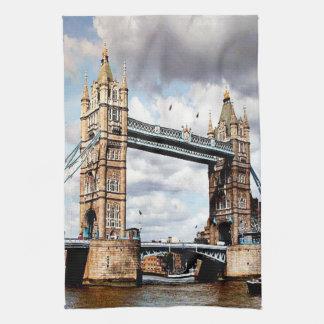 London Bridge Hand Towel