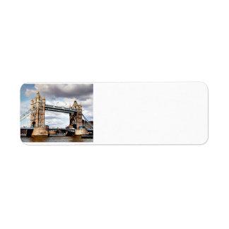 London Bridge Return Address Label