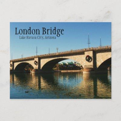 London Bridge, Lake Havasu City, AZ Post Card