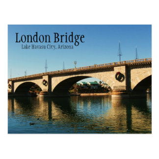 London Bridge, Lake Havasu City, AZ Postcard