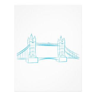 London Bridge Landmark Letterhead