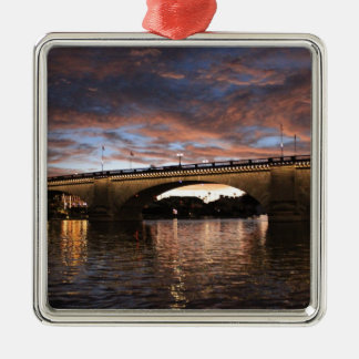 London Bridge Metal Ornament