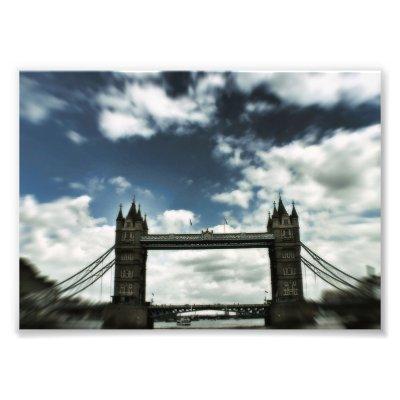 London Bridge United Kingdom Photographic Print photoenlargement