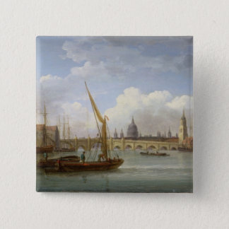 London Bridge, with St. Paul's Cathedral in the Di Button