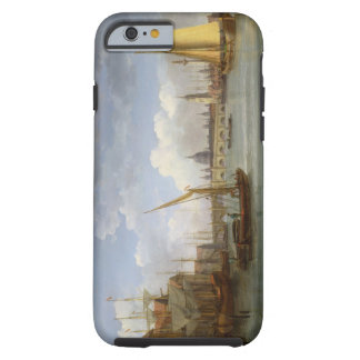 London Bridge, with St. Paul's Cathedral in the Di Tough iPhone 6 Case