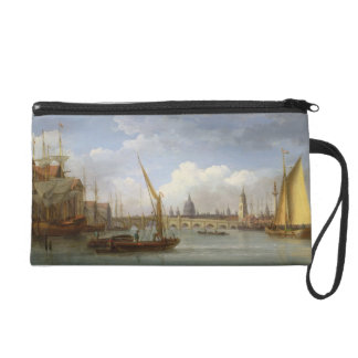 London Bridge, with St. Paul's Cathedral in the Di Wristlet