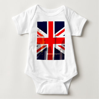 London-British Flag_ Baby Bodysuit